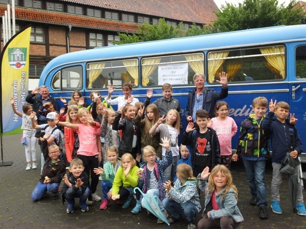 Kinderprojekt des HV Bad Meinberg