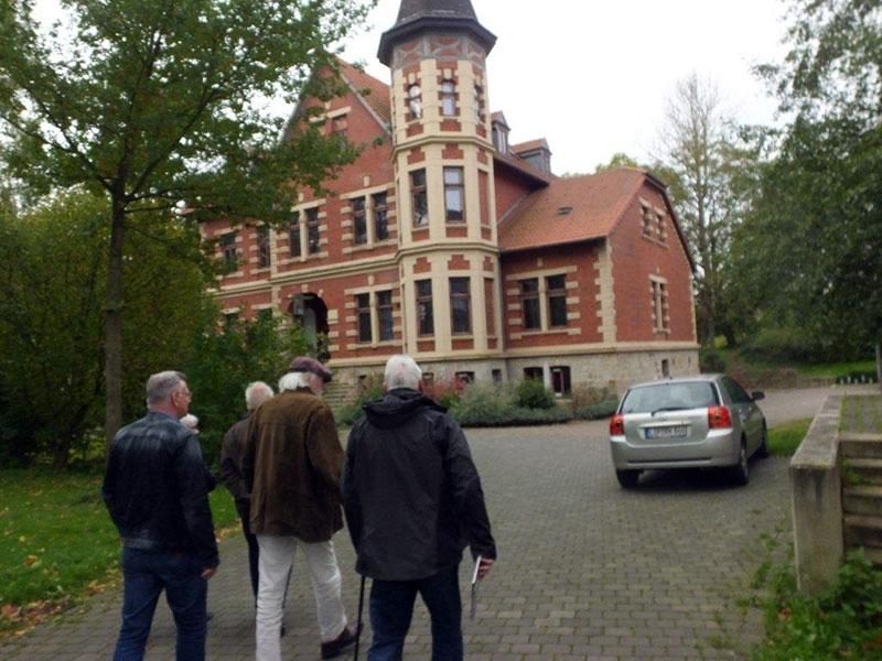 Besuch des ehemaligen Ritterguts in Herberhausen
