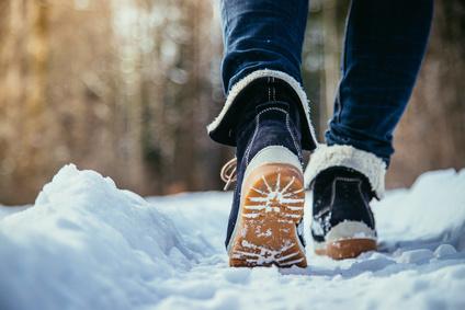 Kleine Winter-Wanderung auf der Moormeile