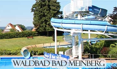Das Freibad in Bad Meinberg