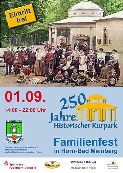 250 Jahre Kurpark