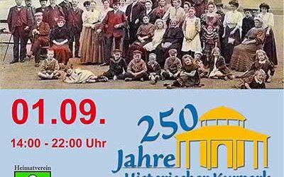 Kurpark feierte Geburtstag